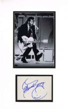 Chuck Berry Autograph Signed Display